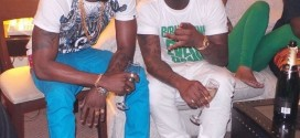 The Storm Is Over: Davido And Diamond Hang Out Together