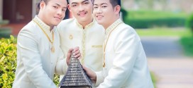 PHOTOS: Three Gay Men Get Married In World's First Trio Same-s*x Marriage