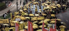 Hong Kong Pro-democracy Protesters Return To Streets