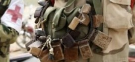 A Chadian Soldier Wears Charms For Protection Against Boko Haram Militants (photo)