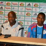 Emmanuel Amuneke In His Post-Game Media Conference After the 3-1 Win Over Zambia on Saturday. Image: Caf via BackPagePix.