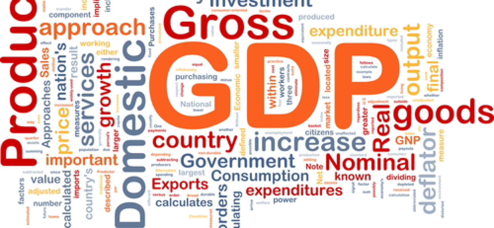 the united states government actions that made the downturn of the gross domestic product