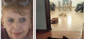 Pics: Stray dogs show up at funeral of woman who used to feed them