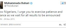 Presidential Elections: Buhari Addresses Nigerians Again