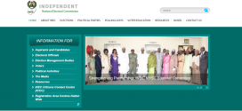 INEC Website Restored After Hackers' Attack