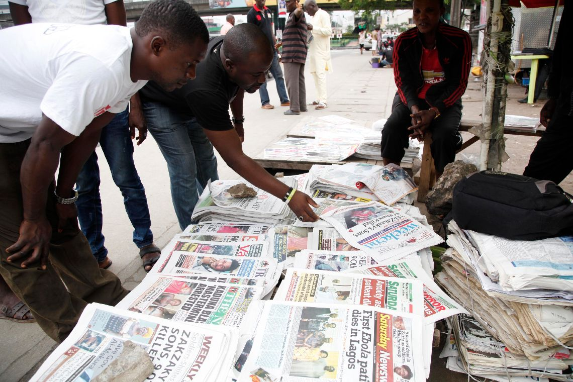 Nigerian Newspaper Headlines Today: 17th January