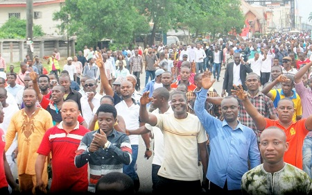 RIVERS-APC PROTEST