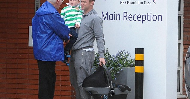 Rooney Bids Bye-Bye To Boxing Celebration After Son Tried It At School