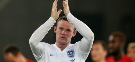 Rooney is Three More Strikes Behind Bobby Charlton's Goals Record for England. Image: AFP.