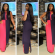 Actress, Dakore Akande Looking Cool In Colour-block Dress [PHOTO]