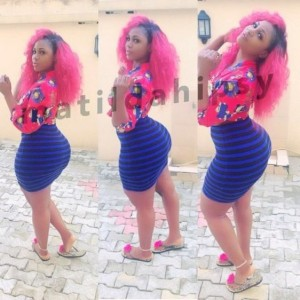 See Photos Of The Girl With The Biggest Behind In Africa [PHOTOS]