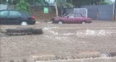 Photos From The Yesterday's Flooding In Lagos…