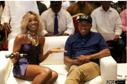 Wale Gates mocks Seyi Shay over outfit she wore to meet with GEJ