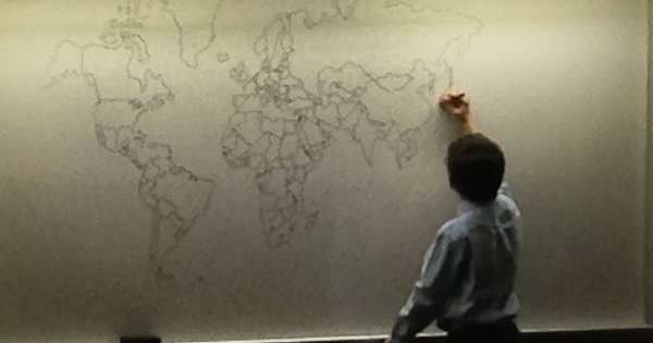 Autistic 11 year old draws world map from memory in new york 11 year old buy with autism world map gumiabroncs Images