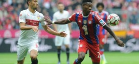 David Alaba Out for Seven Weeks With Knee Ligament Tear