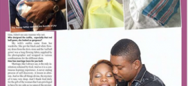 ADORABLE PHOTOS: Nollywood Actor, Chidi Mokeme And Wife Unveil Their Newborn Baby