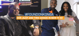 Don Jazzy & Tiwa Savage Star In A Moving Konga.com Advert