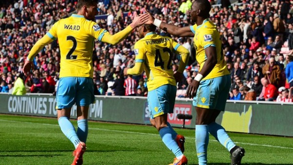 Yannick Bolasie's Hat-Trick in Eleven Minutes Consigned Sunderland to Defeat. Image: Getty.