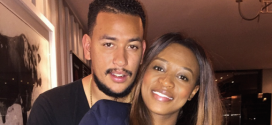 Awww!!! AKA Plants Kiss On The Baby Bumps Of His Girlfriend, DJ Zinhle's
