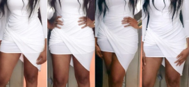 Ebube Nwagbo Steps Out For Ini Edo's Party…..Checkout Her Outfit…