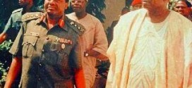Checkout This Throwback Photo Of Abacha, Late M.K.O Abiola & Tinubu