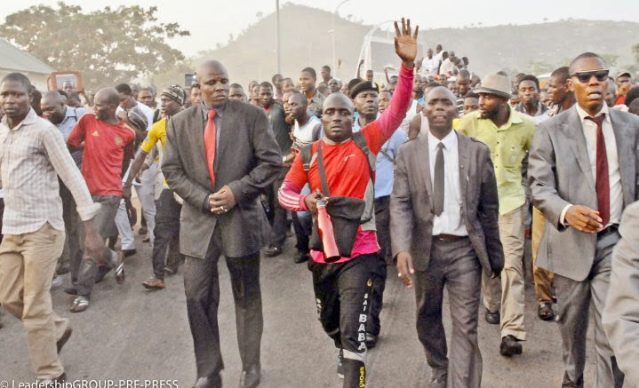Image result for apc supporter mukaili who trekked from lagos to abuja