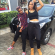 Thug Life: Tania Omotayo Dressed Up As A Gangster For 90's Theme Party
