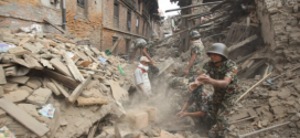 Nepalis Dig Through Quake Rubble For Survivors, PM Says Toll Could Be 10,000
