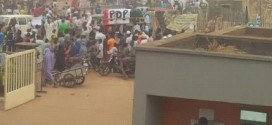 Photos: PDP burial procession in Kaduna