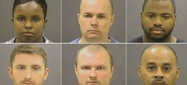 Six Baltimore Officers Charged Over Freddie Gray's Death
