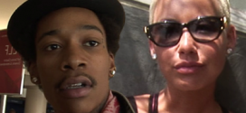 Wiz Wants Amber Rose Far Away From Him As They Stay In Same Hotel In Vegas