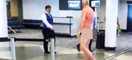 Man Goes unclad To Protest Overbooked Flight At Airport