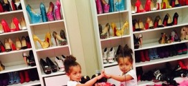 Dencia Shows Off Her Massive Shoe Closet [PHOTO]