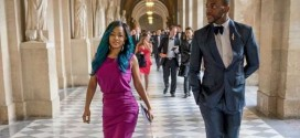 See Photos As Toke Makinwa And Ebuka Hit France