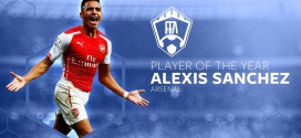 Sanchez; Player of the Year, Wenger; Manager of the Year
