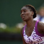 Venus Williams Groans During Her 1st Round Defeat by Sloane Stephens. Image: Sports Today.