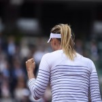 Maria Sharapova Pumps Her Fist after Straight Sets Defeat of Samantha Stossur in the Third Round of the 2015 French Open. Image: RG via Getty.