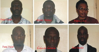 6 CBN Officials And 16 Others Arrested By EFCC Over N8bn