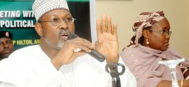 BREAKING: Jega Hands Over