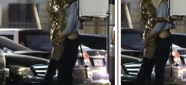 Miley Cyrus pictured passionately kissing a woman in a parking garage [Photos]