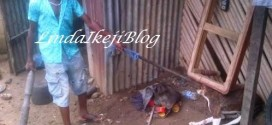 9 yr old boy pictured killing a dog in Calabar…for dog meat (horrific photos)