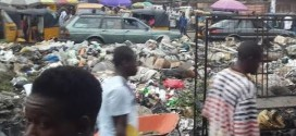 See the appalling state of Douglas Road in Owerri