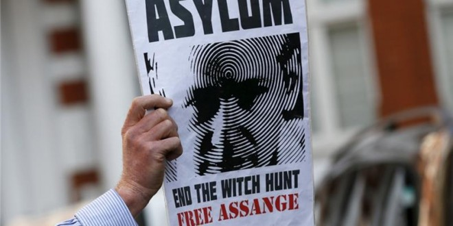 France Reject Asylum Request From WikiLeaks' Assange