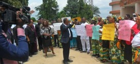 CAN Stages Peaceful Protest Over Boko Haram Suspects' Relocation To Anambra