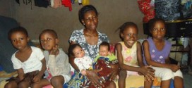 Lagos Speaker Visits Woman Whose Husband Absconded After She Gave Birth To Their 3rd Set Of Twins   Photo