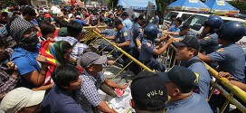 Clashes Commence In Philippines Ahead Of President's speech