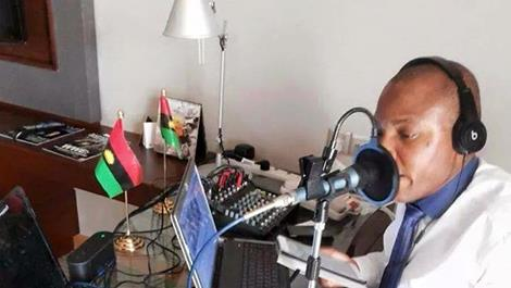 Image result for radio biafra