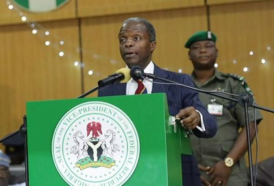 Image result for Vice President Yemi Osinbajo, SAN, has called on political leaders