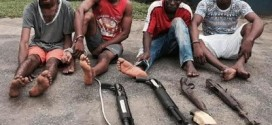 Police Parade Murder Suspects, Others In Rivers