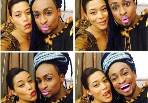 See Denrele Proudly Wearing Pink Lipstick [PHOTO]
